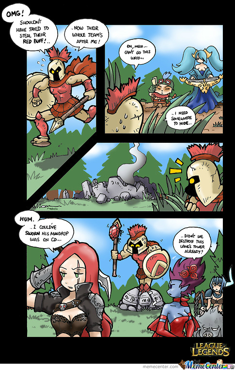 Sundaymorninglol #1 Pantheon's Smart Ideea
