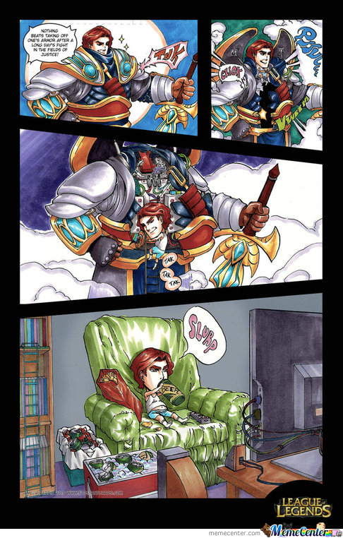Sundaymorninglolz #6 Garen's Secret