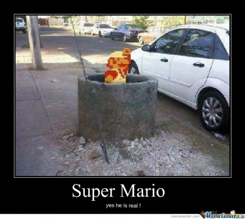 super mario is real