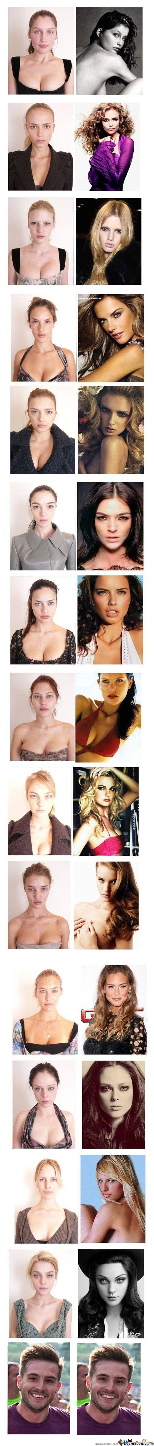 Super Models B4 An After >>> Still Hot