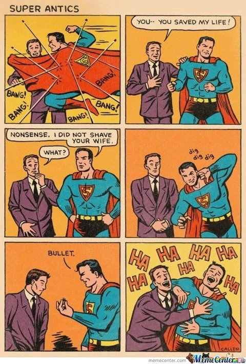 Superman Antics