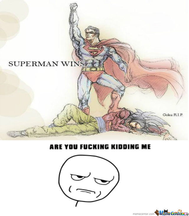 Superman Beats Goku
