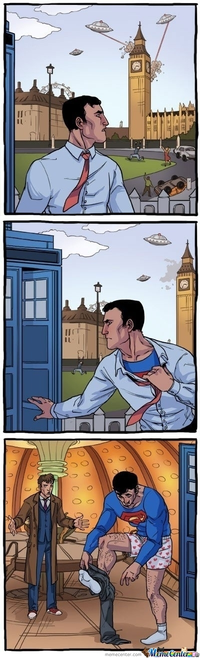 Superman In England