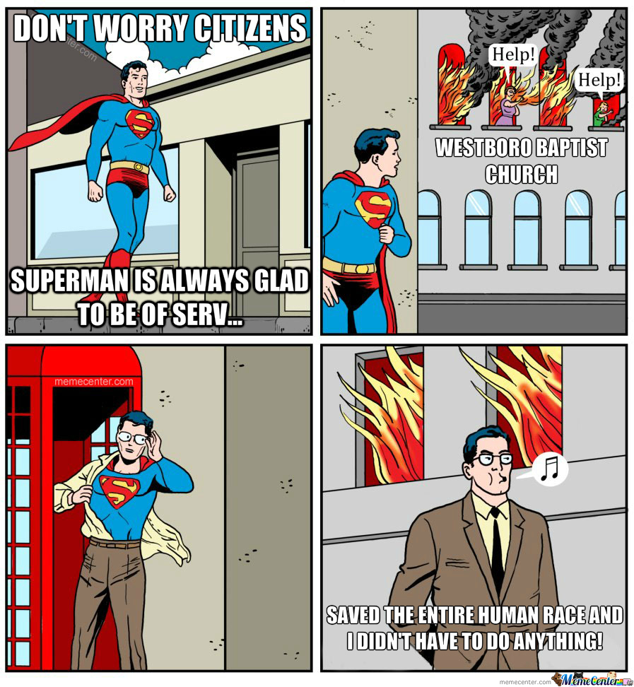 Superman Saves The Day!