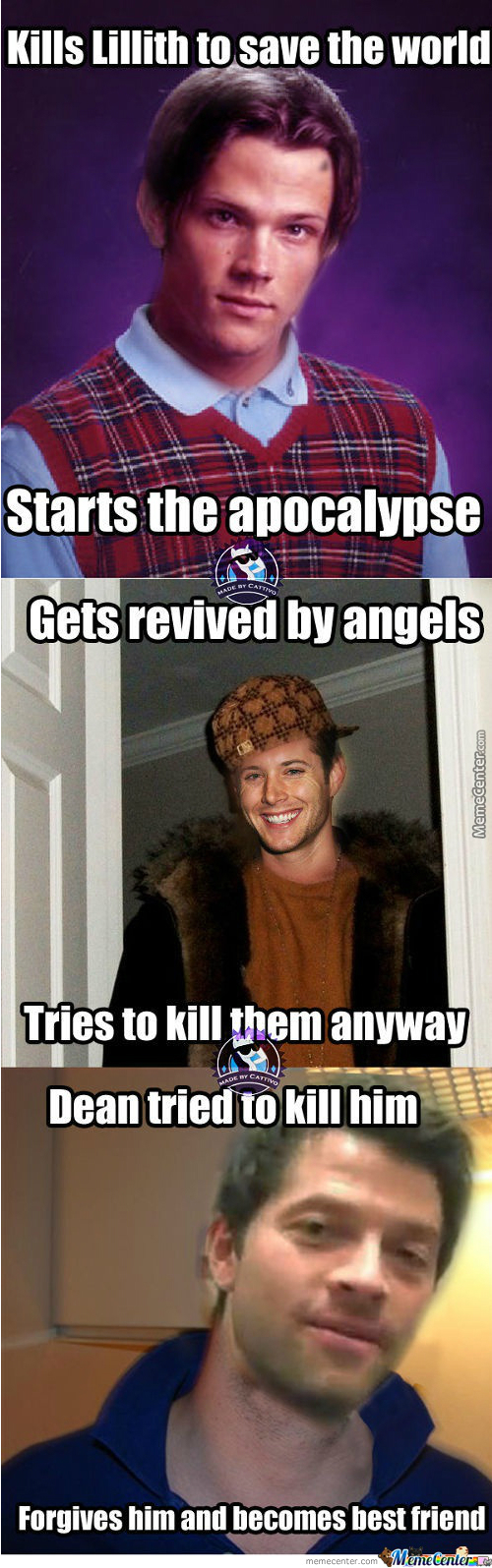 Supernatural Explained By Memes