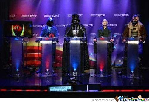 Supervillain Primary Debate 2012