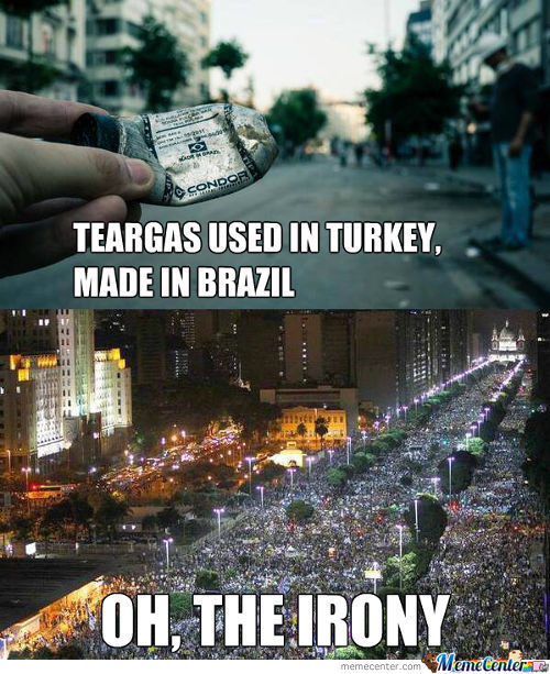 Support The Riots In Brazil And Turkey, They Are True Heroes Of The People