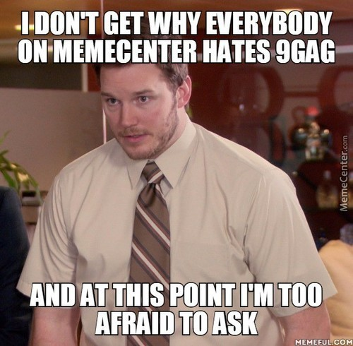 Sure, Some 9Gaggers Copy Stuff From Other Websites, But Doesn't Some Memecenter Users Do The Same?