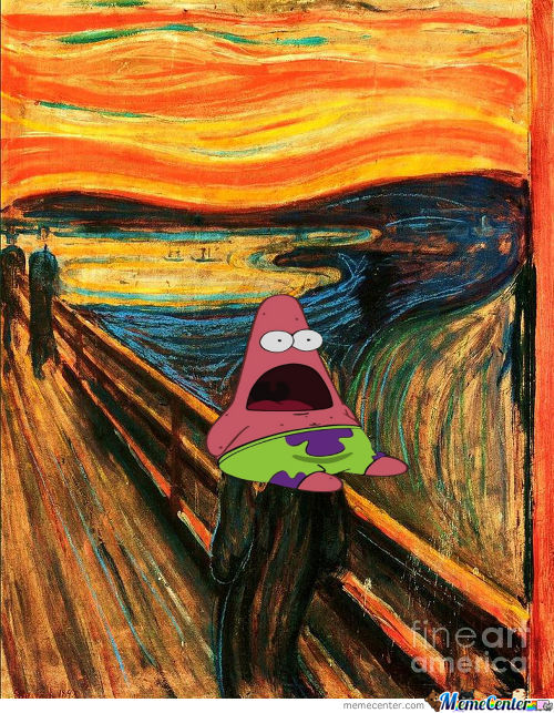 Surprised Patrick Scream