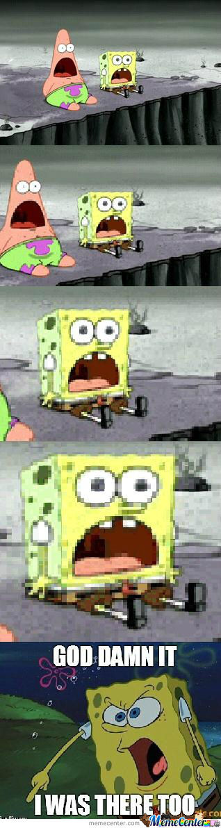 Surprised Spongebob
