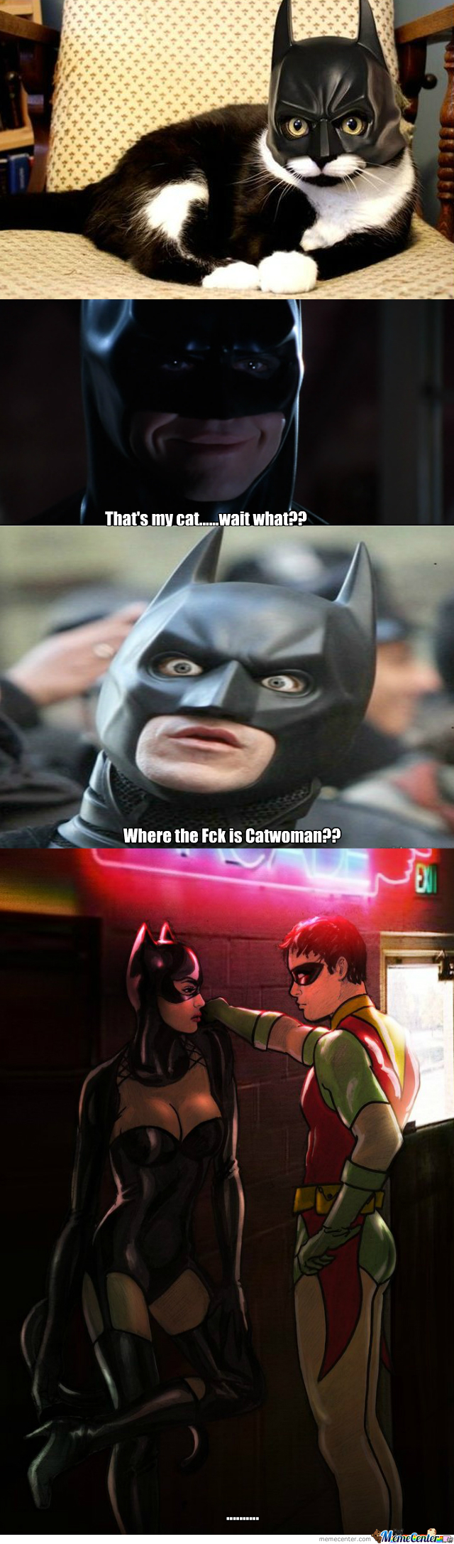 Suspicious Batman
