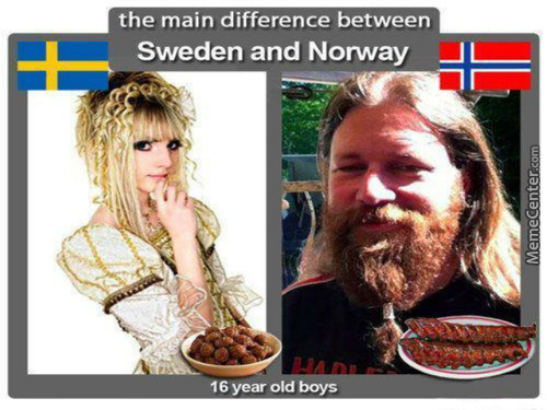 Sweden>norway
