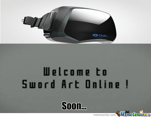 Sword Art Online Here We Come!