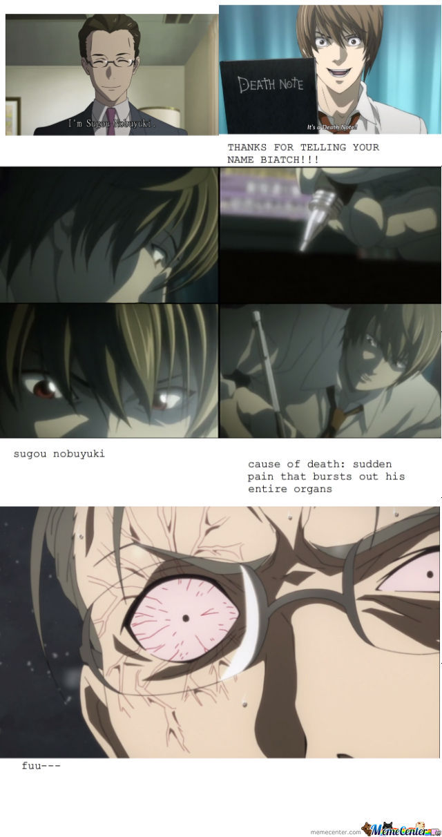 Sword Art Online Is Better With Death Note