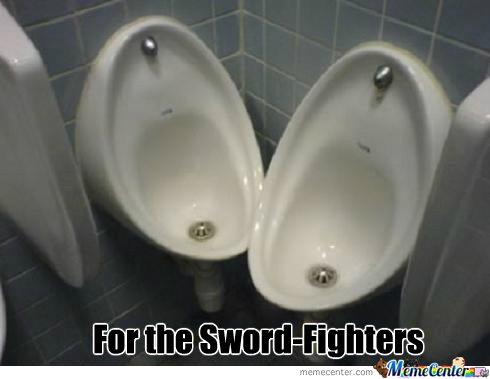 Sword Fight All The Pee Streams