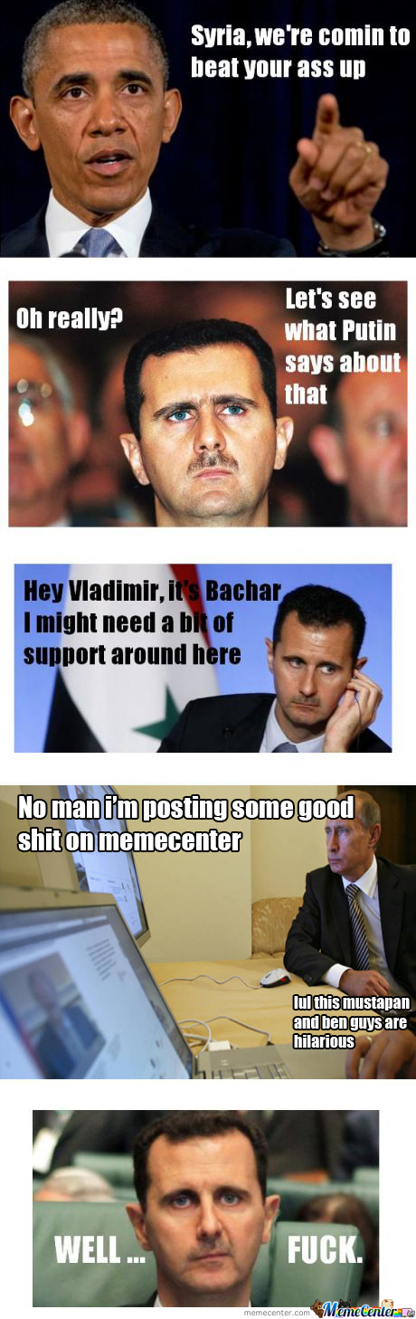Syrian Meme Passing Through