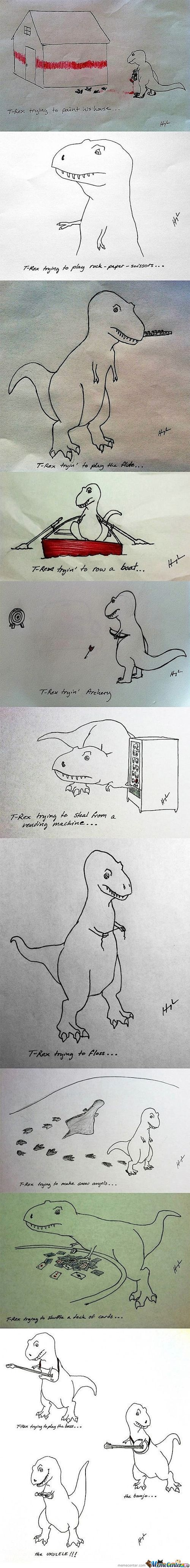 T-Rex's Diaries...i'll Watch That.
