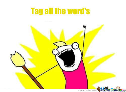 Tag All The Word's