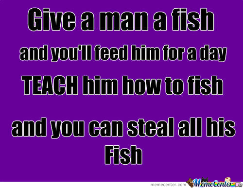 Take A Man A Fish