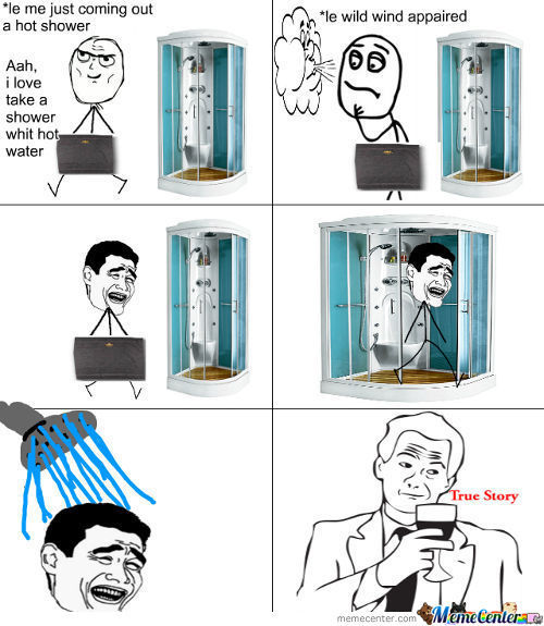 Take A Shower True Story