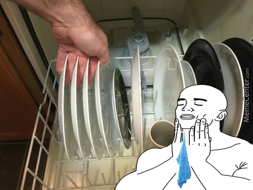 Taking Out The Dishes And Feel This Success