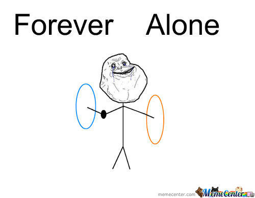 Talk About Forever Alone <3