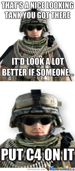 Tanks Are A Goldmine For Support Class