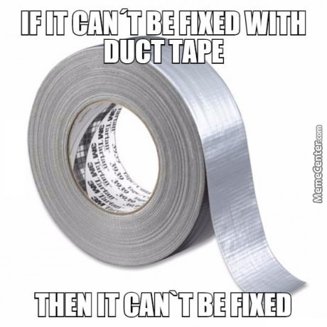 Tape Is Da Last Hope