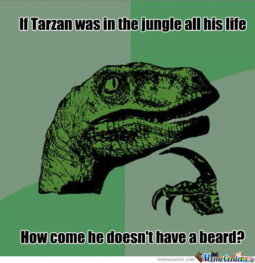 Tarzan And Raptor