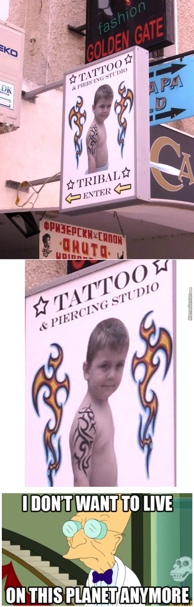Tatoo & Piercing For Kids (!?)