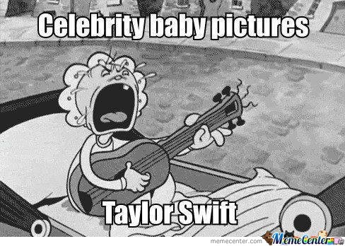 Taylor Swift Baby Picture