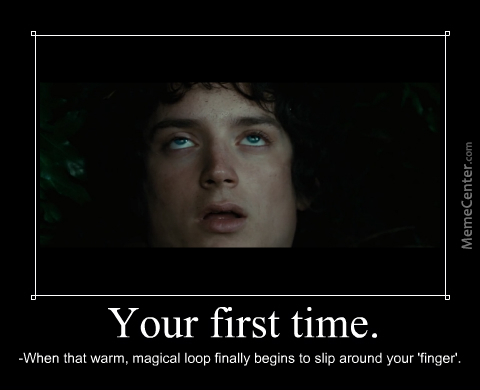 Teach Me What It Feels Like, Mr. Frodo!