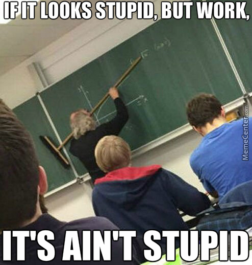 Teacher Are Smart; They Know Everything Better