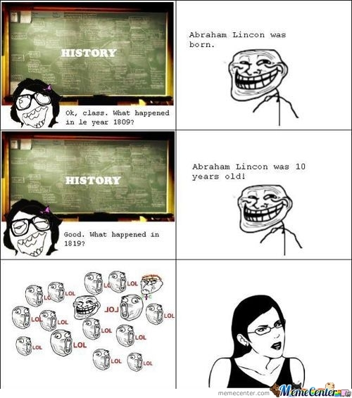 Teacher Trolled