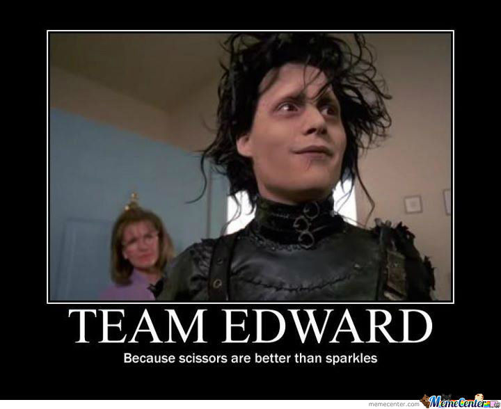 Team Edward All The Way