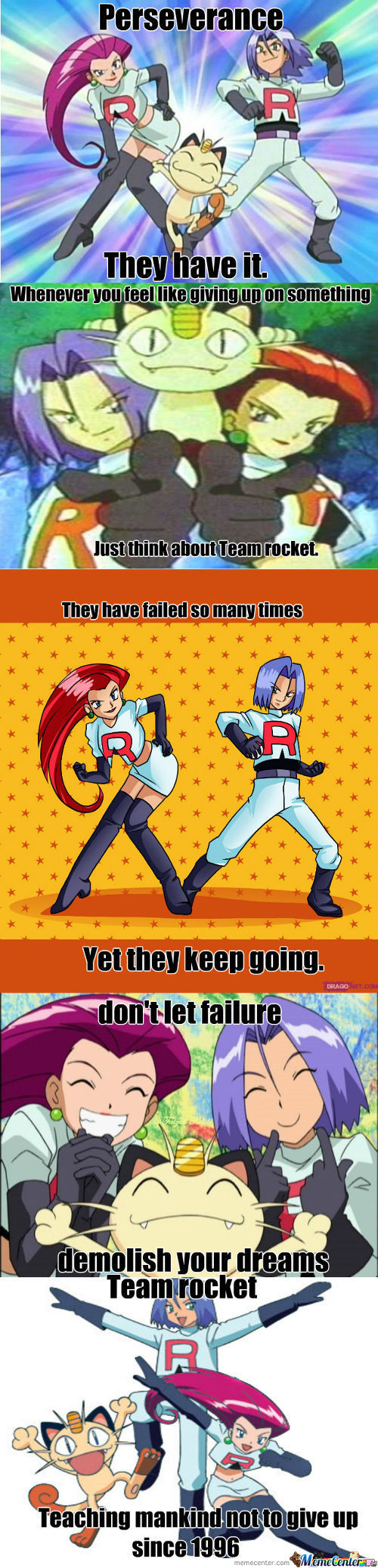 Team Rocket, My Heroes