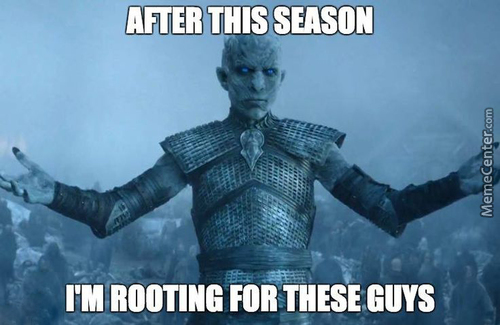 Team White Walker For The Win!