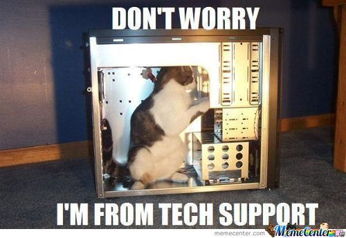 Tech Support Is Here For You