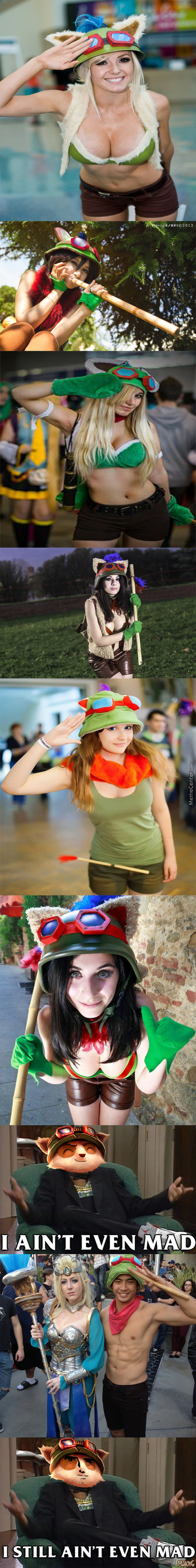 "Teemo ""cosplayers"""