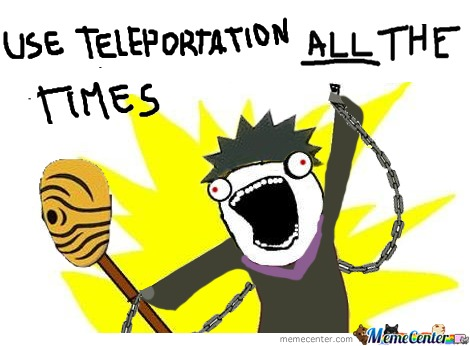 Teleportation All The Times