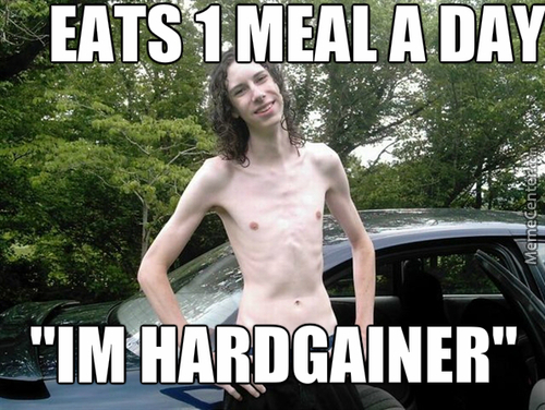 Tell Me More About You Being A Hardgainer