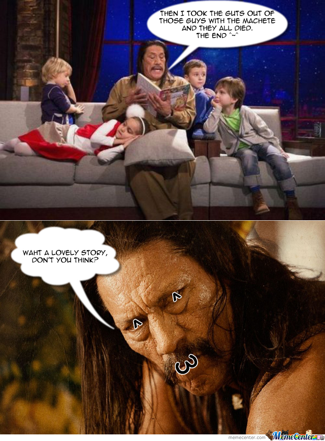 Tell Us More Uncle Machete!