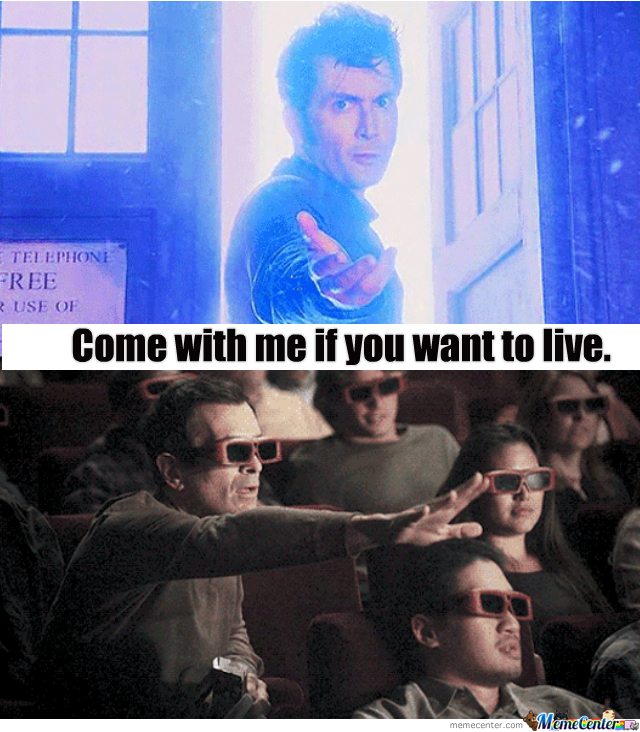 Tenth Doctor Trolls In 3D