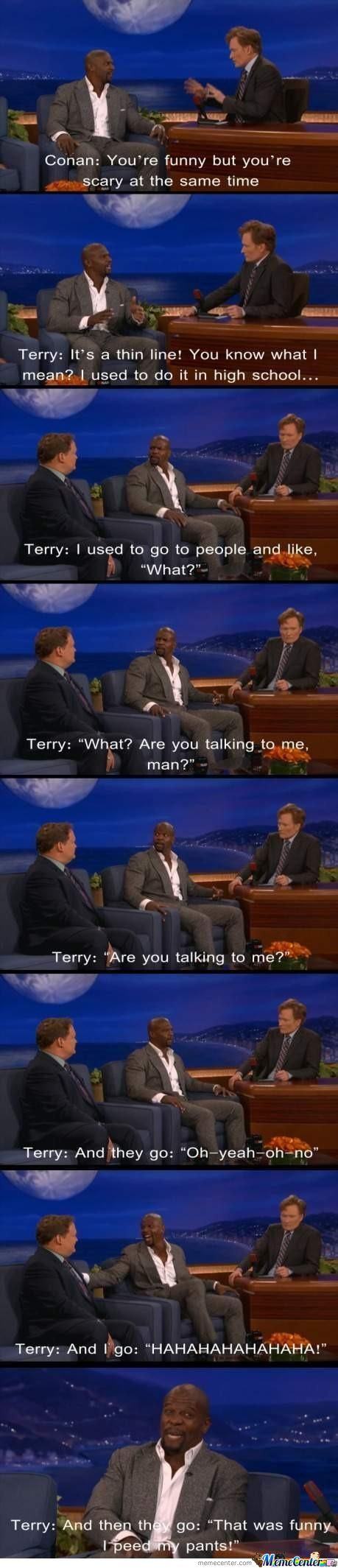 Terry Crews Being Terry Crews