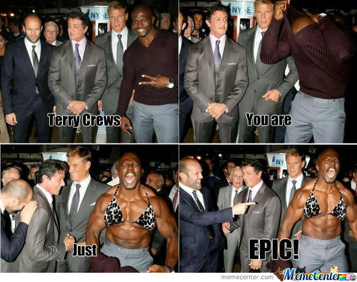 Terry Crews Just Being Epic!
