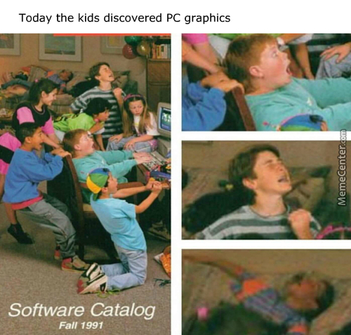 Tfw You Been In The Master Race Since 4 Years Old