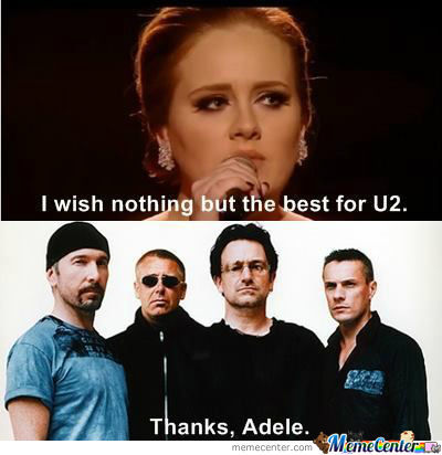 Thanks, Adele!
