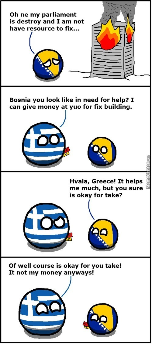 Thanks Greece