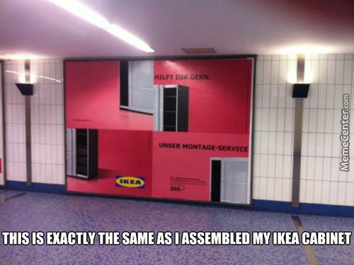 Thanks Ikea