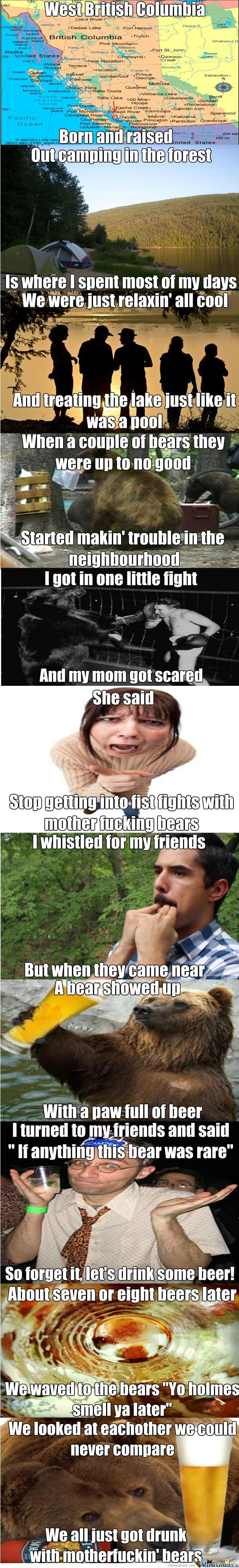 That's How I Became The Fresh Prince Of Bears